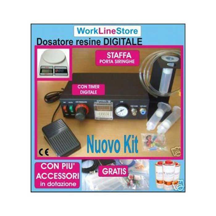 Kit Resinatrice Digitale