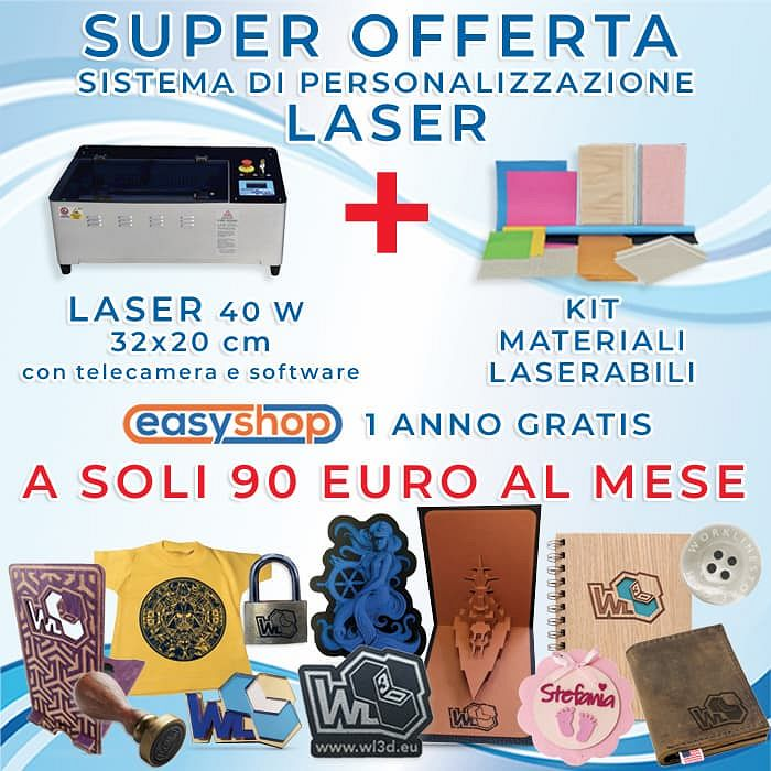 Kit Laser-Materiali-EasyShop